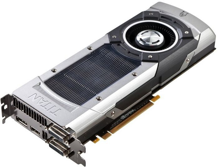 Gainward GeForce GTX Titan, 6GB GDDR5, 2x DVI, HDMI, DisplayPort (2845) -- © nvidia.com