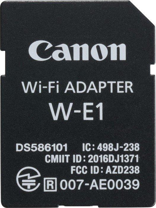 Canon W-E1 Wi-Fi Adapter (1716C001)