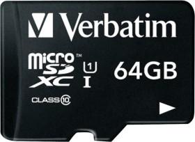 Verbatim Premium microSDXC 64GB, Class 10 (44014)