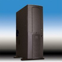 Chieftec Dragon DA-01BD, Big Tower, black, noise-insulated (various Power Supplies) -- © CWsoft