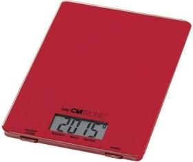 Clatronic KW 3626 Elektronische Küchenwaage rot (263731)