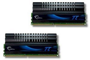 G.Skill PI DIMM kit 4GB PC3-12800U CL6-8-6-24 (DDR3-1600) (F3-12800CL6D-4GBPI)