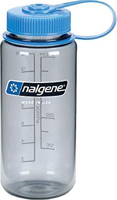 d74a33bf3 Nalgene wide Mouth bottle 0.5l gray/blue (2178-9016) starting from ...