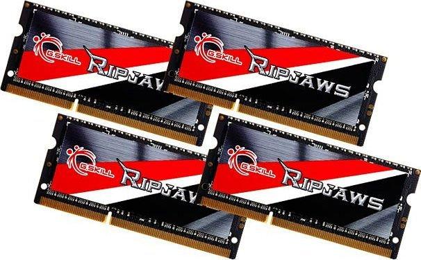 G.Skill RipJaws SO-DIMM Kit 32GB, DDR3L-1600, CL11-11-11-28 (F3-1600C11Q-32GRSL)