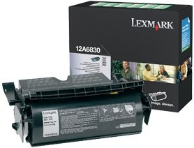 Lexmark Return Toner 12A6830 black