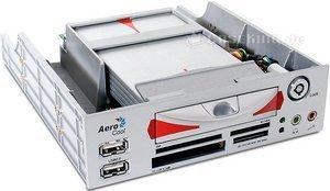 """AeroCool Infi-panel, panel multifunkcyjny 5.25"""" (różne kolory) (EN42550/EN42567) -- © caseking.de"""