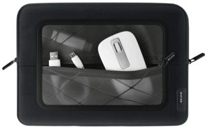 "Belkin Lifestyle sleeve with front transparent pocket 10"" (F8N305cw)"