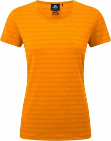 Mountain Equipment Stripe Shirt kurzarm orange sherbert stripe (Damen) (ME-001554-ME-01525)