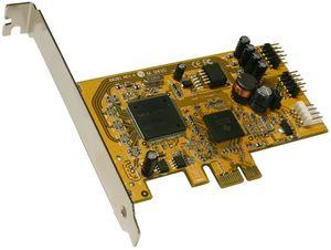 Exsys EX-11067, 4x USB 2.0, PCIe x1
