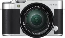Fujifilm X-A3 silber mit Objektiv XC 16-50mm 3.5-5.6 OIS II