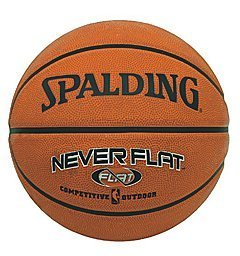 Spalding Never Flat Outdoor Basketball (3001562013017)