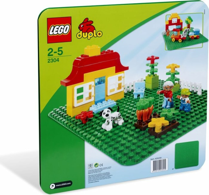 LEGO - DUPLO Play & Discover - Large Green Building Plate (2304) -- via Amazon Partnerprogramm