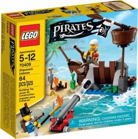 LEGO Piraten - Verteidigung des Schiffswracks (70409)