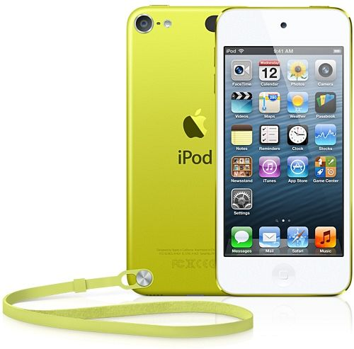 Apple iPod touch 64GB gelb (5G) (MD715*/A) (Late 2012)