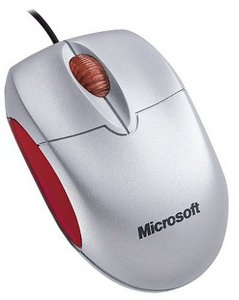 Microsoft notebook Optical Mouse srebrny, USB (M20-00003/M20-00014)