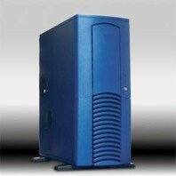 Chieftec Dragon DX-01BLD, Midi-Tower, blue, noise-insulated [various Power Supplies] -- © CWsoft