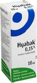 Hyabak eye drops, 10ml