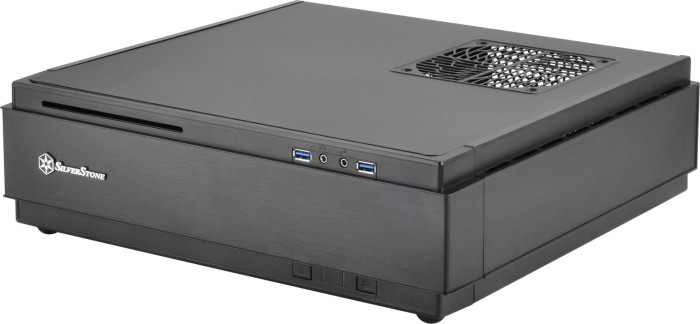 SilverStone Milo ML07 schwarz, Mini-ITX/Mini-DTX (SST-ML07B)