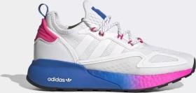 adidas ZX 2K Boost cloud white/shock pink (Damen) (FY0605)