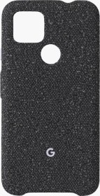 Google fabric Back Cover for pixel 4a 5G Basically Black (GA02062)