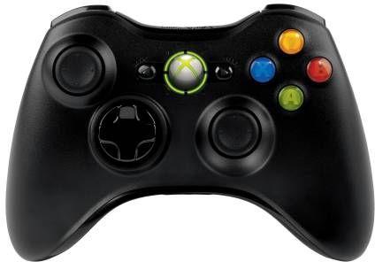 Microsoft Xbox 360 Controller Wireless schwarz (Xbox 360) (B4F-00017)