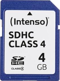 Intenso R21/W5 SDHC 4GB, Class 4 (3401450)