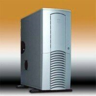 Chieftec Dragon DX-01SLD, Midi-Tower, silver, noise-insulated (various Power Supplies) -- © CWsoft