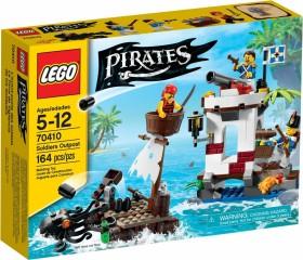 LEGO Piraten - Außenposten der Soldaten (70410)