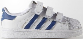 adidas Superstar weiß/blau (Junior) (S74946)