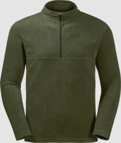 Jack Wolfskin Arco Shirt langarm moss stripes (Herren) (1701483-8000)