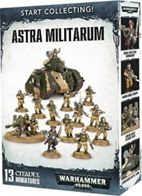 Games Workshop Warhammer 40.000 - Astra Militarum - Start Collecting! Astra Militarum (99120105068)