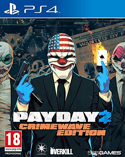 Payday 2 - Crimewave Edition (German) (PS4) -- via Amazon Partnerprogramm