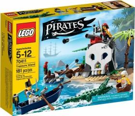 LEGO Piraten - Piraten-Schatzinsel (70411)