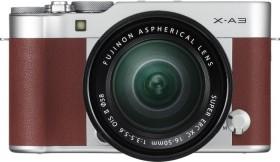 Fujifilm X-A3 braun mit Objektiv XC 16-50mm 3.5-5.6 OIS II
