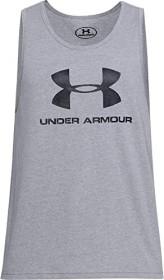 Under Armour Sportstyle Logo Shirt ärmellos grau (Herren) (1329589-036)