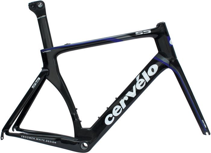 Cervélo S5 VWD model 2012 Road frame -- Photo: Cervélo