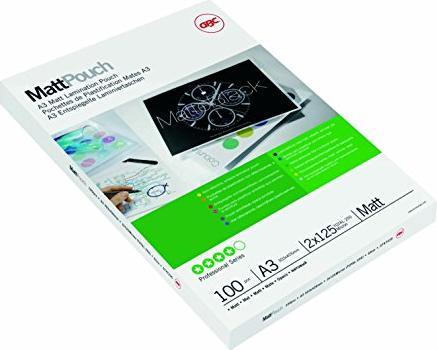 GBC Laminierfolie A3, 2x 125 micron, matt, 100 Stück (3747235) -- via Amazon Partnerprogramm