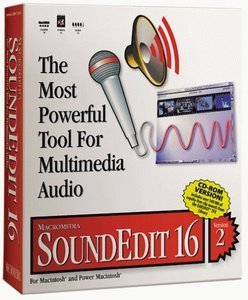 Adobe: SoundEdit16 2.0 (deutsch) (MAC)