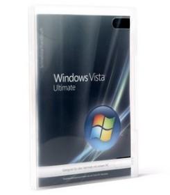 Microsoft Windows Vista Ultimate 64Bit, DSP/SB, 1er-Pack (deutsch) (PC) (66R-00841)