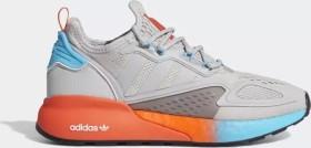 adidas ZX 2K Boost grey two/signal cyan (Damen) (FY0606)