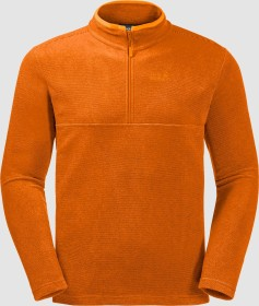Jack Wolfskin Arco Shirt langarm rusty orange stripes (Herren) (1701483-8031)