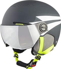 Alpina Zupo Visor Helm charcoal neon matt (Junior) (A9229X32)