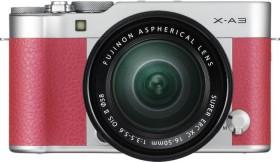 Fujifilm X-A3 pink mit Objektiv XC 16-50mm 3.5-5.6 OIS II