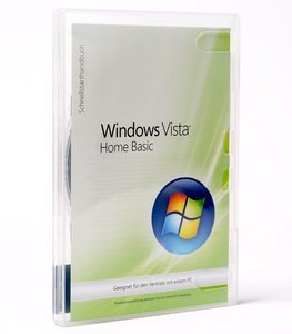 Microsoft: Windows Vista Home Basic 32Bit, DSP/SB, 1er-Pack (deutsch) (PC) (66G-00579) -- © DiTech