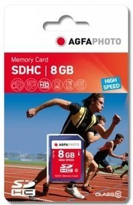 AgfaPhoto High Speed SDHC 8GB, Class 10 (10425)