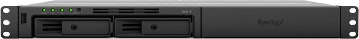 Synology RackStation RS217 2TB, 1HE