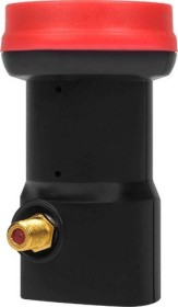 MegaSat Single LNB Diavolo black/red (0400011)