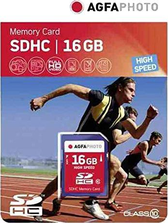 AgfaPhoto High Speed SDHC 16GB, Class 10 (10426) -- via Amazon Partnerprogramm