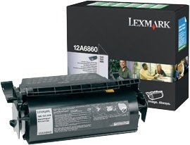 Lexmark Return Toner 12A6860 black