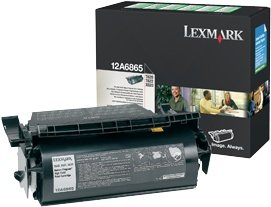 Lexmark 12A6865 Return Toner black high capacity